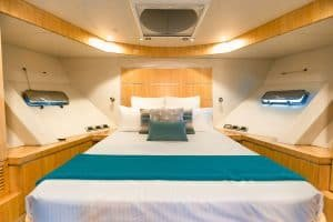 guest bedroom yacht