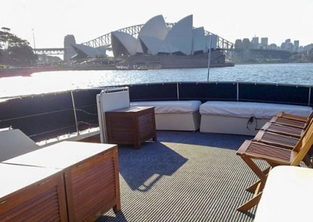 sydney harbour party boats