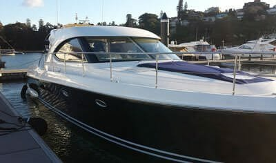 luxury boat cruiser
