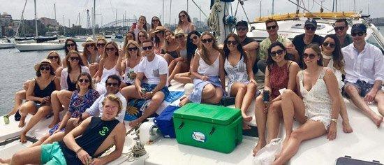 corporate boat hire sydney