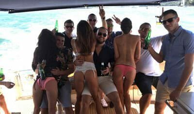 party on boat